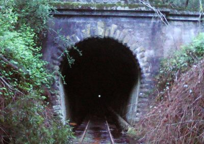 The tunnel at Tunnel is a highlight of the trail